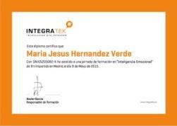 Certificado de Asistencia - Inteligencia Emocional (2)